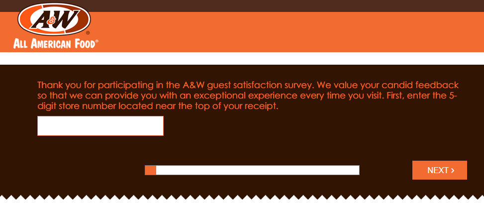 A&W Restaurant Survey