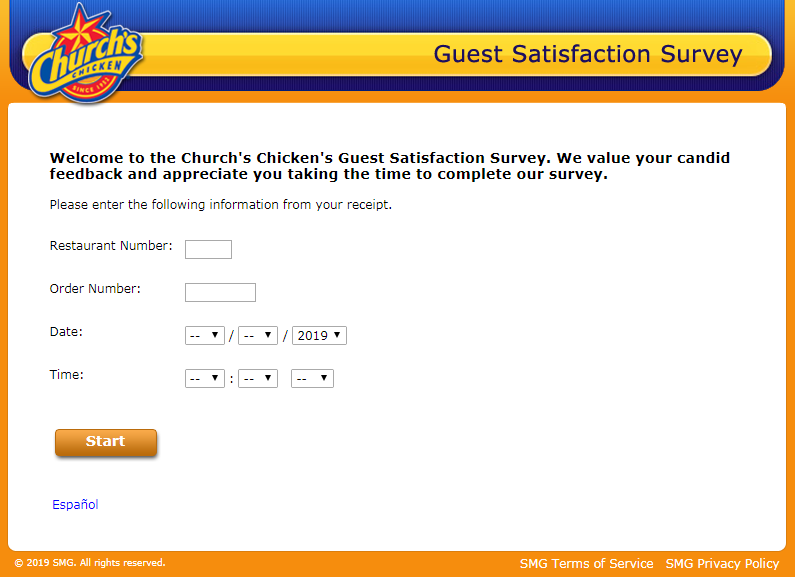 Church Guest Survey