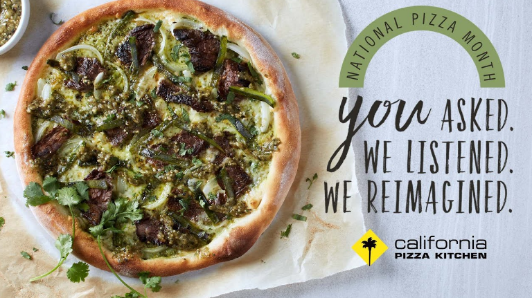 California Pizza Kitchen Customer Experience Survey