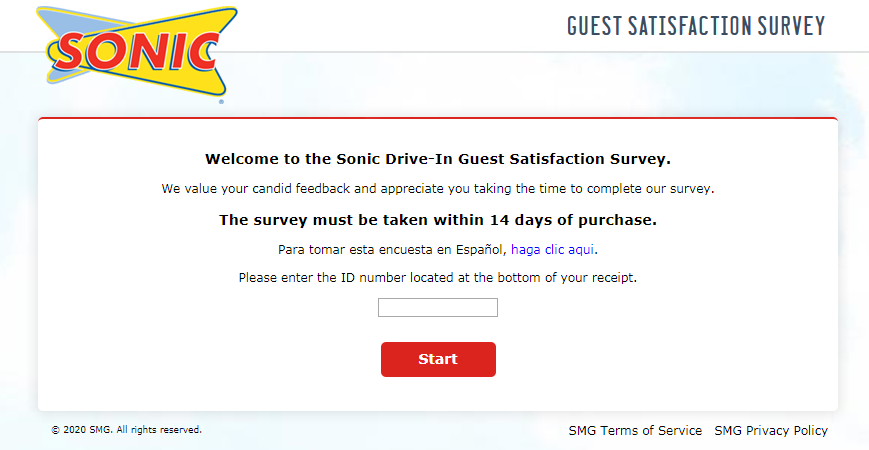Sonic Drive-In Customer Satisfaction Survey